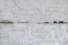 Nordwind  -  H 100 x B 120 cm.  / Acryl auf Leinwand
